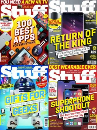 Stuff UK - Full Year Issues Collection 2018