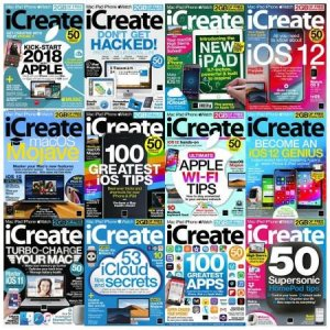 iCreate UK – Full Year Issues Collection 2018