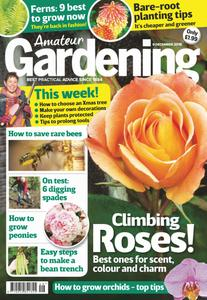 Amateur Gardening – 18 December 2018