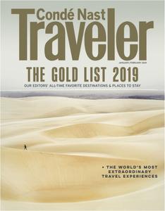 Conde Nast Traveler USA – January 2019