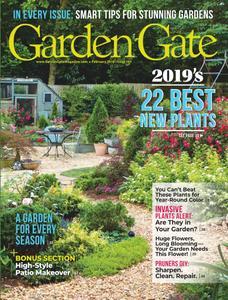 Garden Gate – January 2019
