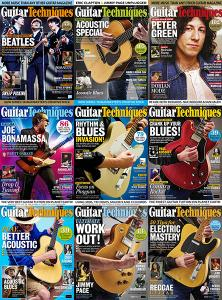 Guitar Techniques – Full Year 2018 Collection