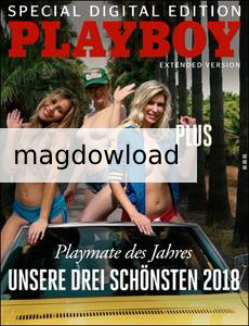 Playboy Germany Special Digital Edition – Playmate des Jahres (Extended Version) – 2018