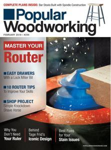 Popular Woodworking – February 2019
