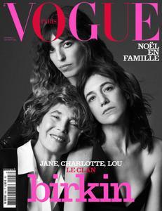 Vogue Paris - décembre 2018