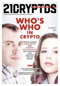 21Cryptos - Issue 13 - November 2018