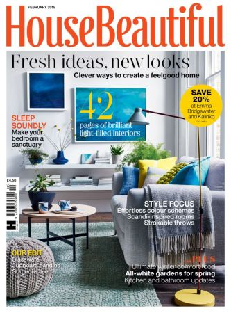 House Beautiful UK – February 2019