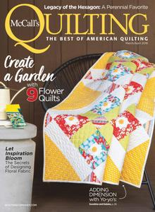 McCalls Quilting – March-April 2019