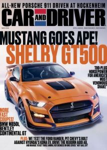 Car and Driver USA - March 2019