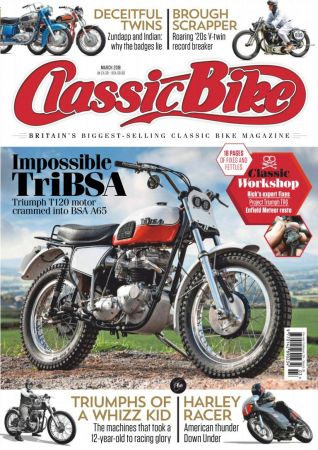 Classic Bike UK – March 2019