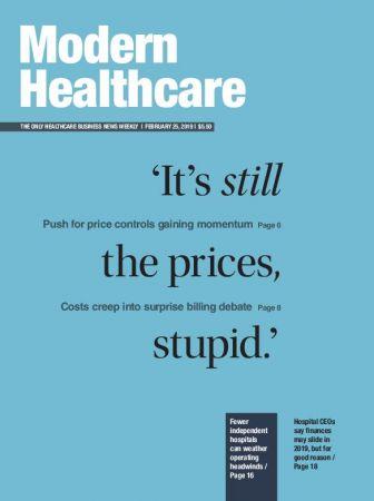 Modern Healthcare – February 25, 2019