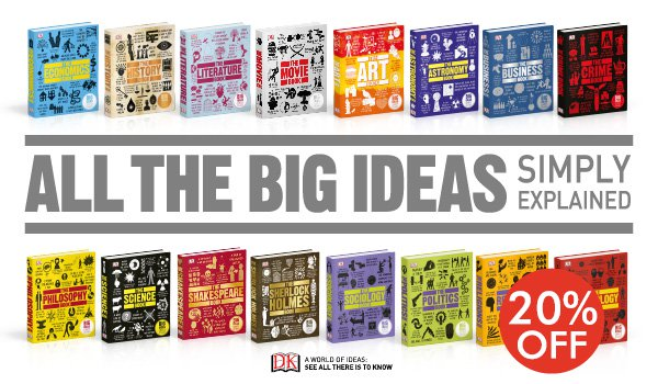Big Ideas Simply Explained - 20 Books Collection by DK