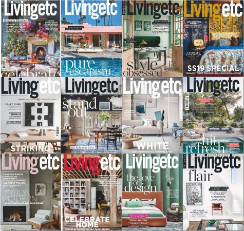 Living Etc UK – 2019 Full Year Issues Collection