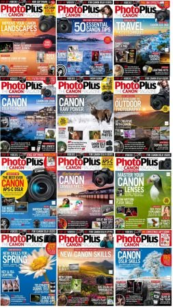 PhotoPlus. The Canon Magazine – Full Year 2019 Collection Issues