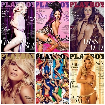Playboy USA – Full Year 2015 Issues Collection