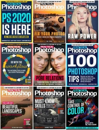 Practical Photoshop – 2019 Full Year Issues Collection