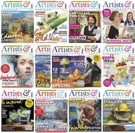 Artists & Illustrators – 2019 Full Year Issues Collection