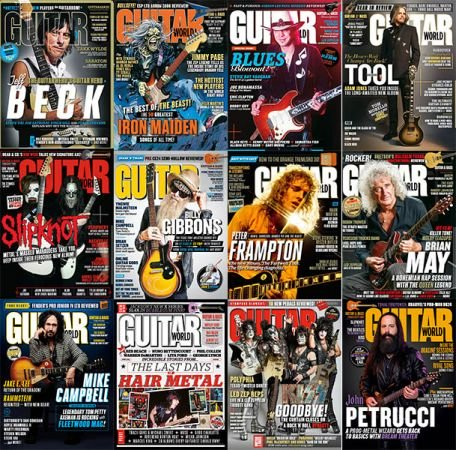 Guitar World – 2019 Full Year Issues Collection