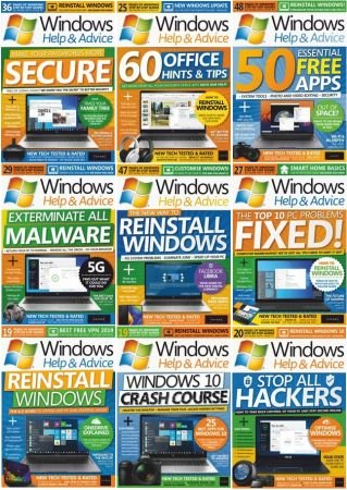Windows Help & Advice – 2019 Full Year Issues Collection