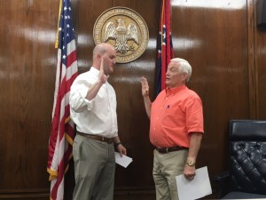 Swearing-in Ceremony for Simpson County Elected Officials