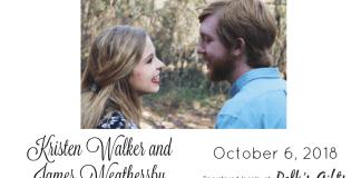 Kristen Walker and James Weathersby