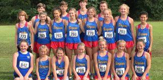 Simpson Academy Cross Country Team