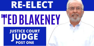 Re-Elect Ted Blakeney Justice Court Judge, Post One