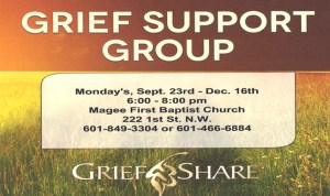 Grief Share @ FBC Magee