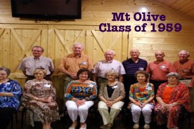 Mt. Olive Class of 1959 Reunion