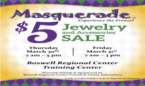 Boswell Masquerade Jewelry Sale