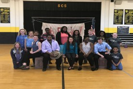 New Stage at Simpson Central School
