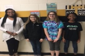 Simpson Central Students Compete Math Competition