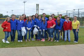 SCA Students help Clean Up Magee