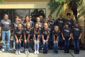 Simpson Central Archery Team 5th in World