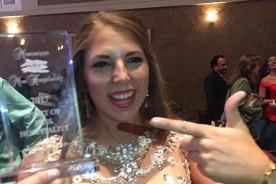 Christin King Wins Spirit of Miss Hospitality