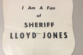 Remembering Sheriff Jones