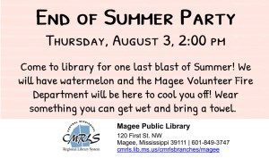 End of Summer Party @ Libary