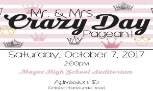 Mr. & Mrs. Crazy Day Pageant