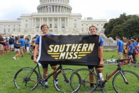 """Students Complete Cross-Country Bike Ride for Pi Kappa Phi's """"Journey…"""