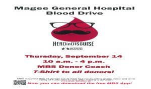 BLOOD DRIVE @ MGH @ DRIVE DRIVE | Magee | Mississippi | United States