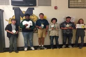 Mendenhall High School August Character Trait Winners