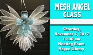 Mesh Angel Craft Class