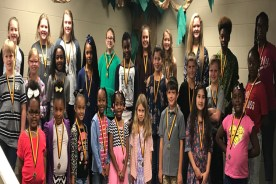 Simpson Central Recognizes Students