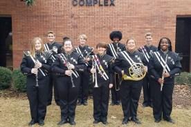 MHS Participants @ Southwest Band Clinic
