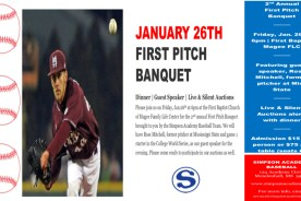 SCA 2nd Annual First Pitch Banquet
