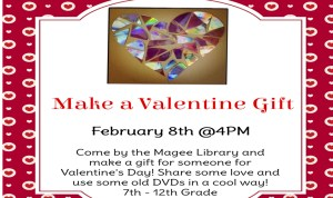 Make a Valentine @ the Library