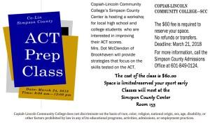 ACT Prep Class