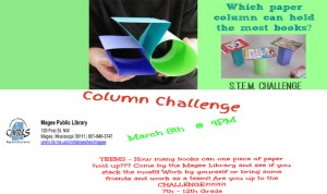 Column Challenge @ the Library