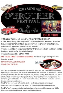 2nd Annual O'Brother Festival @ Downtown D'Lo | D'Lo | Mississippi | United States