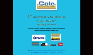 Cole Tractor Celebrates Anniversary @ One Year Anniversary | Mendenhall | Mississippi | United States